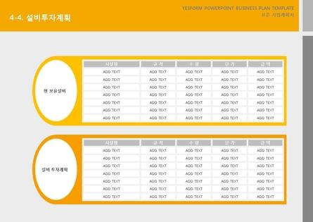 서비스업 표준 사업계획서(서비스업 일반) #24