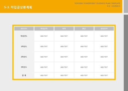 서비스업 표준 사업계획서(서비스업 일반) #31