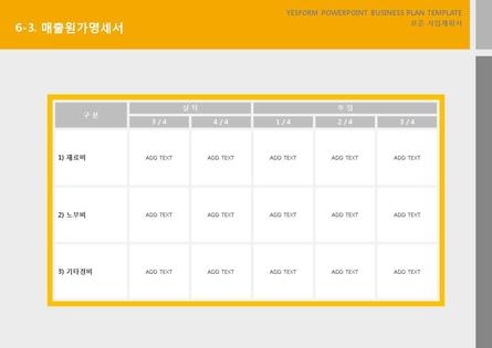 서비스업 표준 사업계획서(서비스업 일반) #35