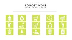 생태학 라인 아이콘 3종세트(1)