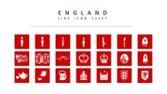 영국 라인 아이콘 3종세트(1)