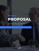 사업 제안서 세로형 business PPT 템플릿