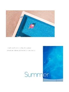 여름 바캉스 세로형 피피티 프레젠테이션