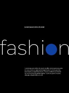 패션 브랜드 세로형 룩북 베스트 템플릿