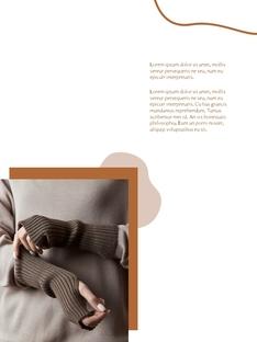 가을 Lookbook 디자인 파워포인트 목차