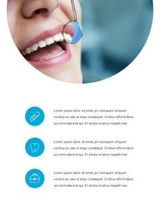 치과 진료소 (Dental)  템플릿 파워포인트