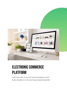 온라인 샵, E-commerce Shop PPT