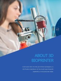 3D Bioprinter (바이오 프린터) 프레젠테이션 PPT