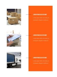 Express Delivery Company (택배) 세로형 템플릿