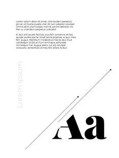 기하학 배경 세로 디자인 템플릿
