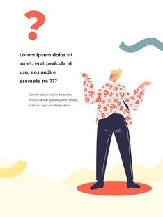 이모션 Illustration PPT template