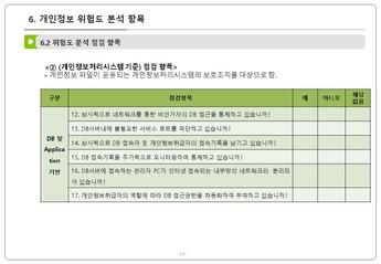 인사 노무 업무 단계별 개인정보 처리요령 #18