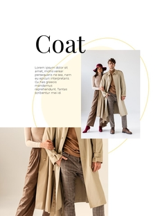 봄 패션 아이템 룩북 Design Template