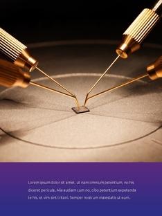 반도체 사업 (Semiconductor  industry) 세로형