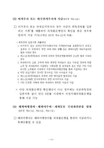 외국환 거래절차 및 유의사항 안내 - 섬네일 16page