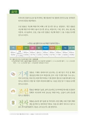 [2016년] 하반기 주용 업종 일자리 전망 - 섬네일 3page