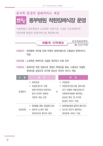 [2017년] 하반기 달라지는 서울생활 - 섬네일 14page