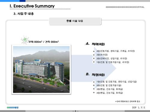 종합병원 투자자금조달 사업계획서(투자자금 조달용) - 섬네일 8page