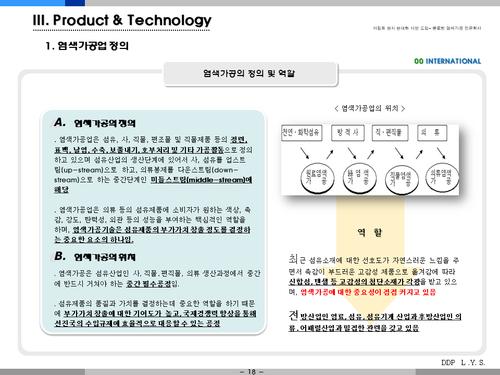 염색공장 해외투자 사업계획서(투자자금 조달용) - 섬네일 18page