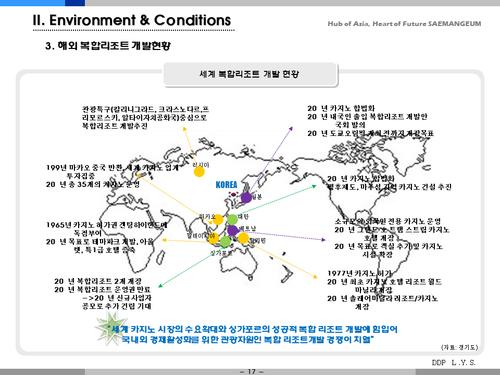 새만금 카지노 복합 리조트 개발 사업계획서(투자자금 조달용) - 섬네일 17page