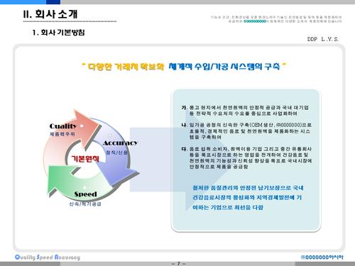 비타민나무 가공음료 투자사업계획서(투자자금 조달용) - 섬네일 7page