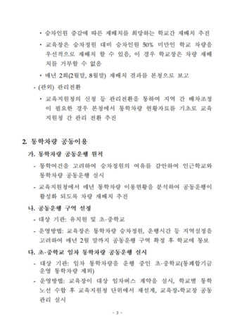 통학차량 업무 매뉴얼 - 섬네일 5page