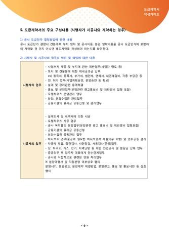 도급계약서 작성가이드 - 섬네일 10page