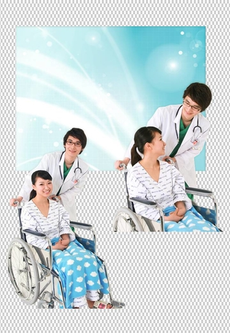 의사와 환자(의료) 파워포인트 배경 템플릿 - 섬네일 18page