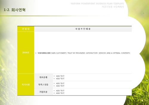 제조업 표준 사업계획서(자금조달용) - 섬네일 6page