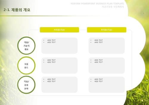 제조업 표준 사업계획서(자금조달용) - 섬네일 14page