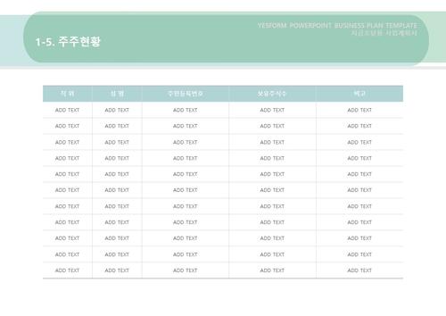 제조업 표준 사업계획서(자금조달용)(3) - 섬네일 9page