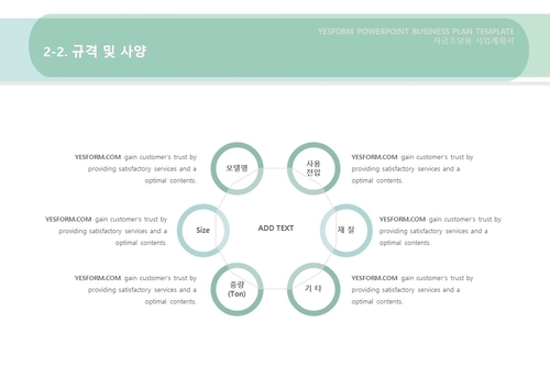 제조업 표준 사업계획서(자금조달용)(3) - 섬네일 12page