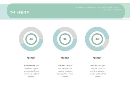제조업 표준 사업계획서(자금조달용)(3) - 섬네일 14page