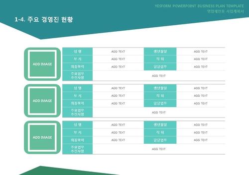 도소매업 표준 사업계획서(영업제안용)(5) - 섬네일 8page