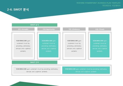 도소매업 표준 사업계획서(영업제안용)(5) - 섬네일 17page