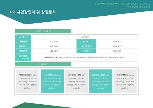 도소매업 표준 사업계획서(영업제안용)(5) - 섬네일 20page