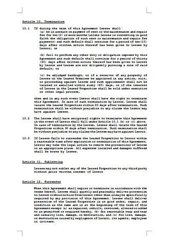 임대차계약서(영문 임대차 계약 예시) - 섬네일 3page