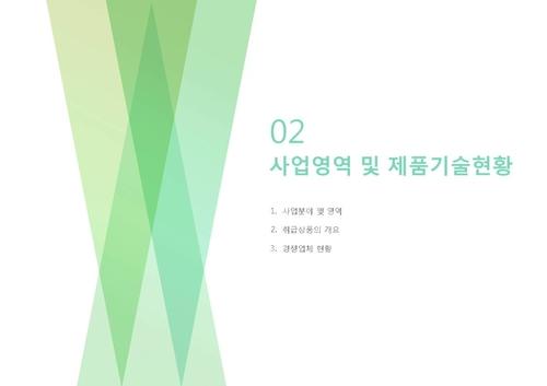 도소매업 표준 사업계획서(회사소개용)(5) - 섬네일 13page