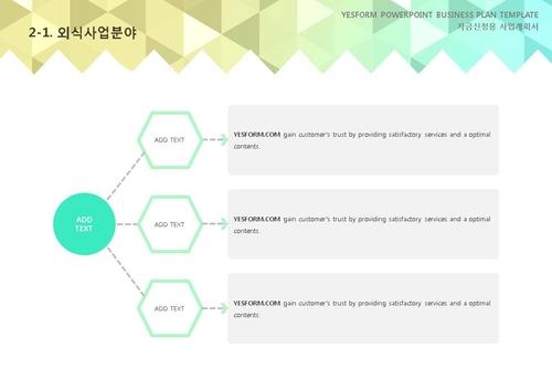 음식.외식업 표준 사업계획서(자금신청용)(1) - 섬네일 11page