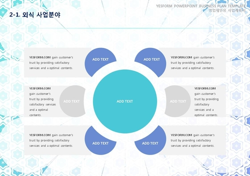 음식.외식업 표준 사업계획서(영업제안용)(3) - 섬네일 10page