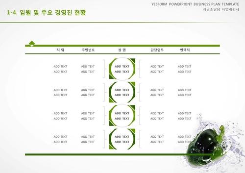 음식.외식업 표준 사업계획서(자금조달용)(1) - 섬네일 8page