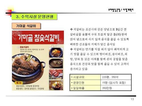 식당노래방모텔근린생활시설자금조달용 사업계획서 - 섬네일 14page