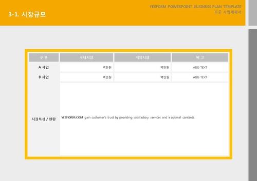 서비스업 표준 사업계획서(서비스업 일반) - 섬네일 17page