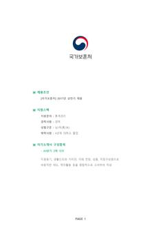 기업별 공채 자기소개서(국가보훈처/통계관리) - 경력, 남녀, 대졸 상세보기