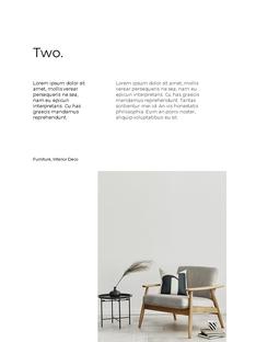인테리어 가구 세로형 Design template
