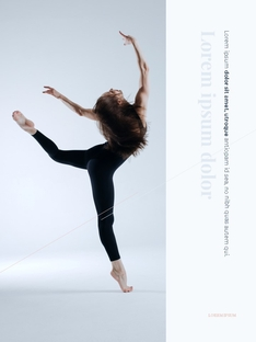 Dance Theme Vertical 템플릿