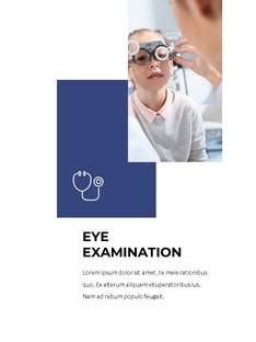 Ophthalmology (안과) 세로형 ppt template