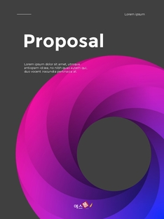 Professionally Business Proposal or Report