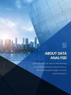 데이터 분석 (Data Analysis) 세로형 PPT