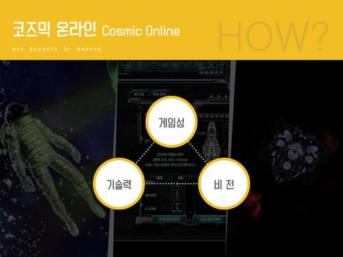 코즈믹 온라인 게임소개서 - 섬네일 4page